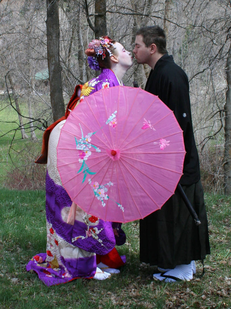 Ode To Kyoto Couple 5 by Falln-Stock