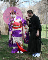 Ode To Kyoto Couple 7 by Falln-Stock