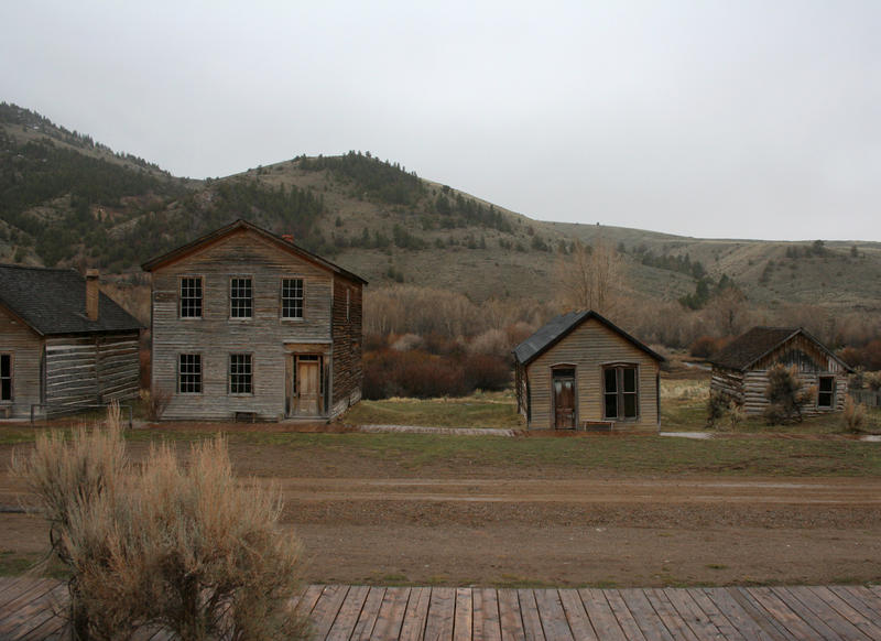 Bannack Ghost Town 82 by Falln-Stock