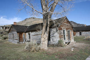 Bannack Ghost Town 193 by Falln-Stock