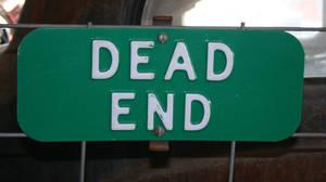 MoA Museum 460 Dead End Sign