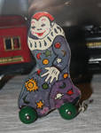 Gallatin Museum 33 Clown Toy