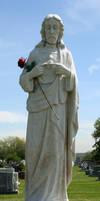 Mount Olivet Cemetery Woman 255