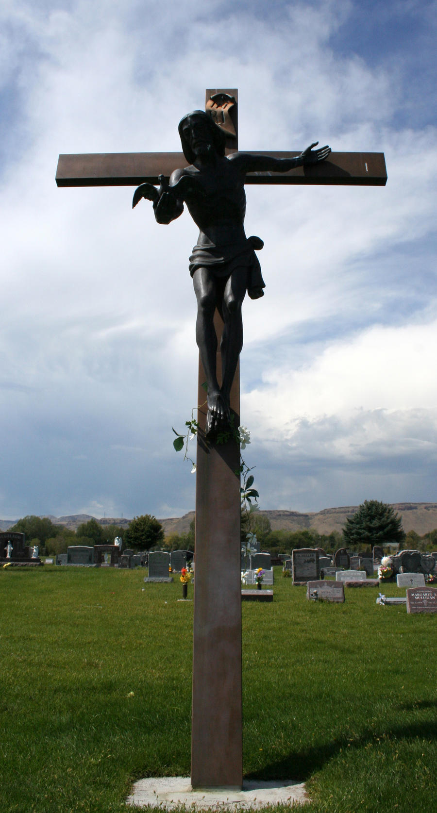 Mount Olivet Cemetery Jesus 291
