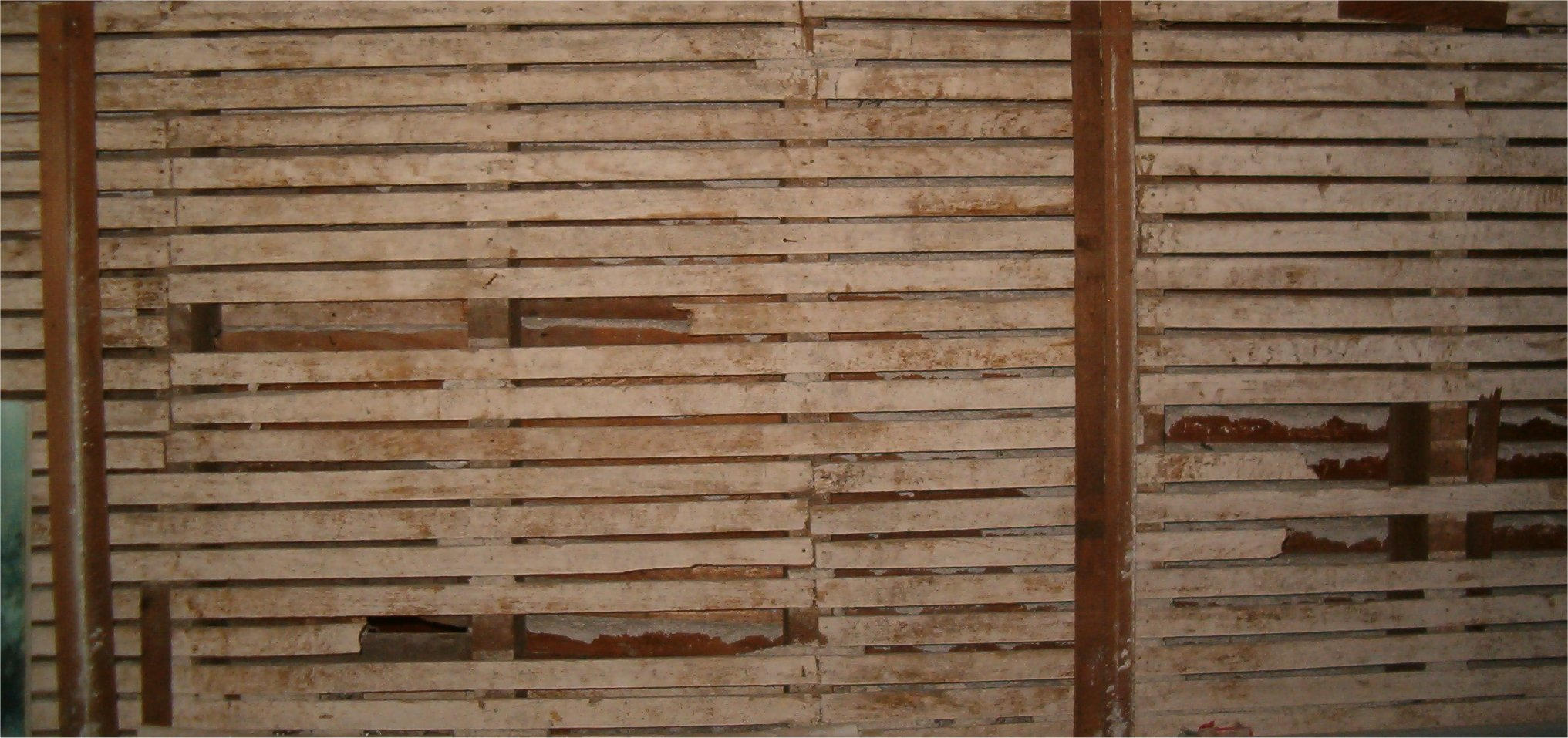 wood slats by falln