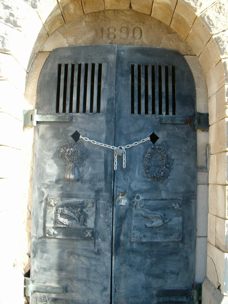 Mausoleum Doors 1 by Falln-Stock ... : mausoleum doors - pezcame.com