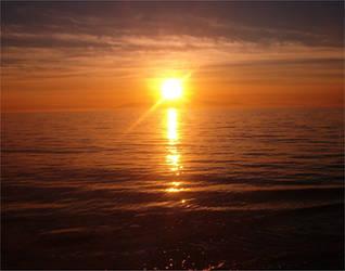 Alameda Ocean Sunset 3 by Falln-Stock