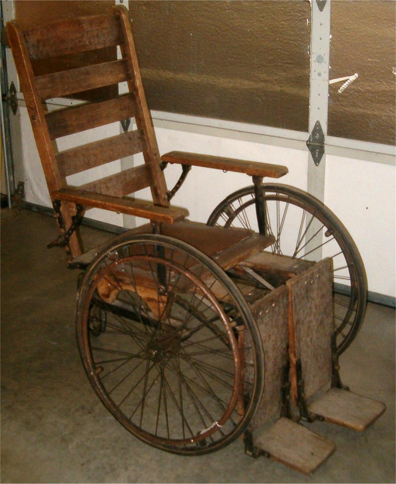 Antique Wheel Chair 2 by Falln-Stock ... - Antique Wheel Chair 2 By Falln-Stock On DeviantArt