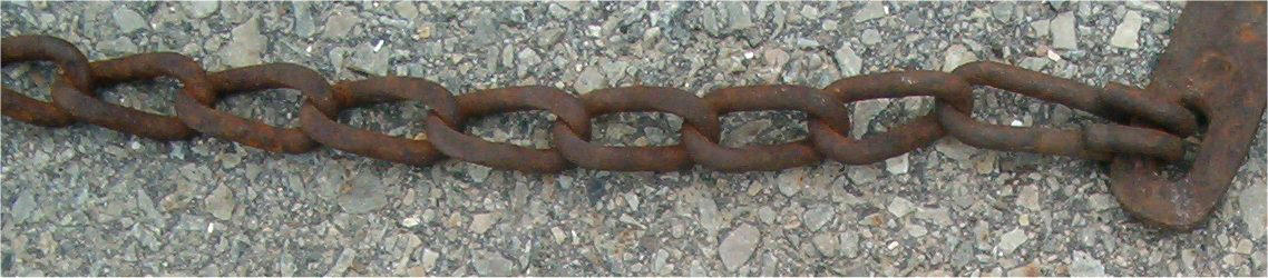 Rusted Chain 2 by Falln-Stock