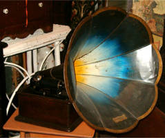 Antique Phonograph 2 by Falln-Stock