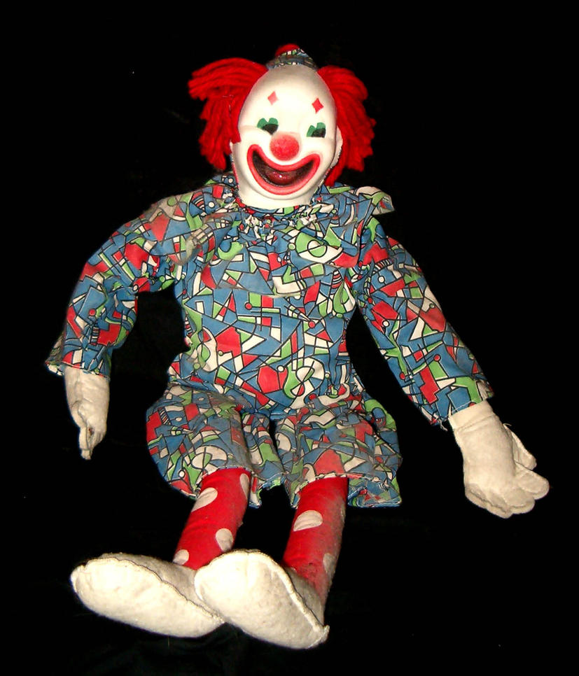 Antique Clown Doll 2 by Falln-Stock