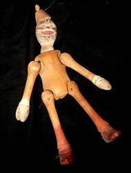 Schoenhut Clown Doll 1 by Falln-Stock