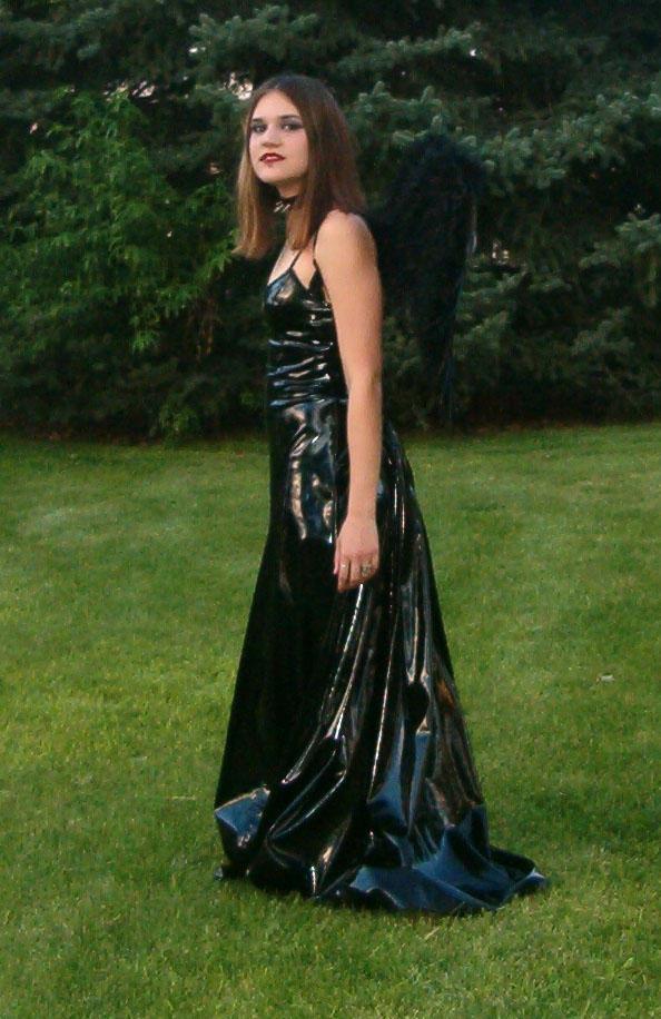 Vinyl Dress Mo 80 by Falln-Stock on DeviantArt