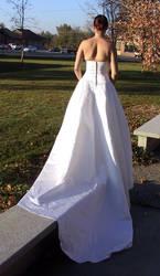 White Gown Terra 1 by Falln-Stock