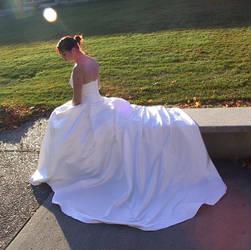 White Gown Terra 23 by Falln-Stock