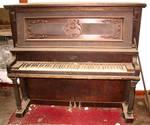 Abandoned House Piano 3