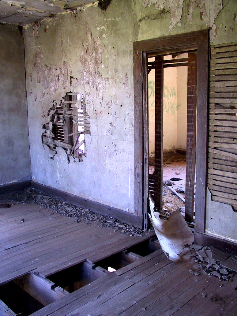 Abandoned Hotz Building 18 by Falln-Stock