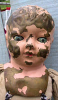 Antique Doll Head 5