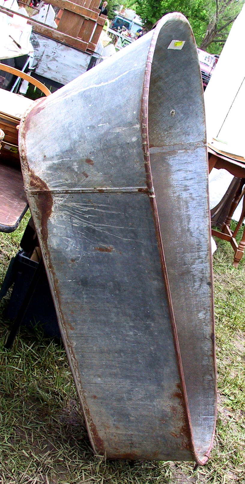 ... Vintage Metal Bathtub 3 By Falln Stock