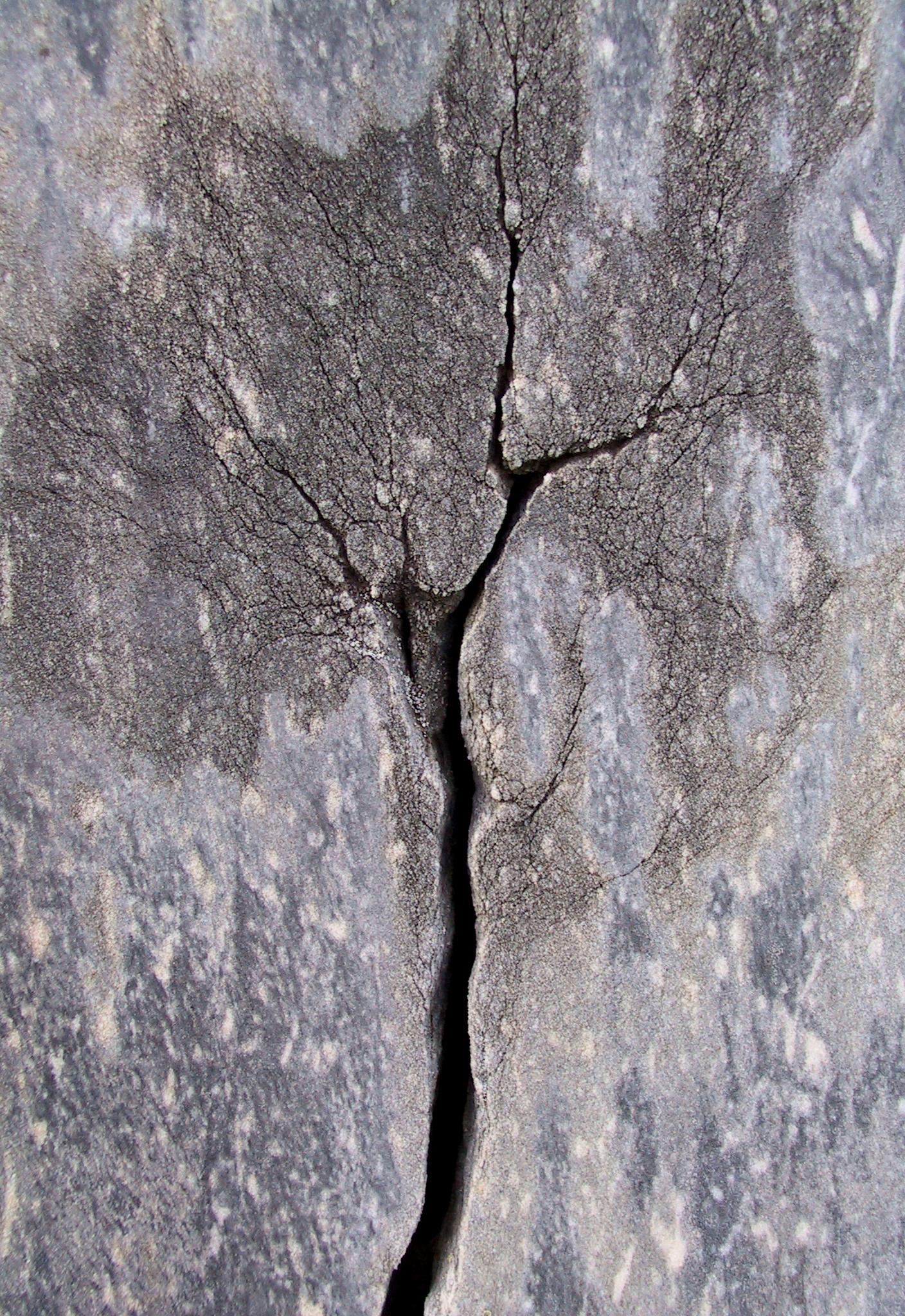 Headstone Crack