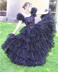 Black Dress Bob 9 by Falln-Stock