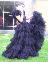Black Dress Bob 10 by Falln-Stock