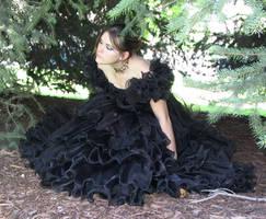 Black Dress Bob 36 by Falln-Stock