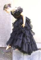 Black Dress Bob 38 by Falln-Stock
