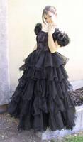 Black Dress Bob 40 by Falln-Stock