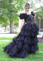 Black Dress Bob 42 by Falln-Stock