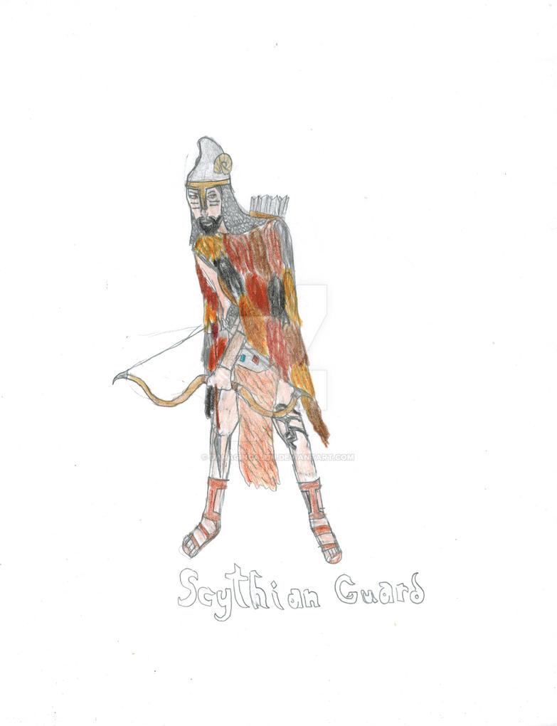 Scythian Guard by DaRaginCajun