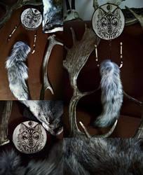 Lupine Spirit Totem