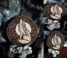 Moon Spirit Woodburning