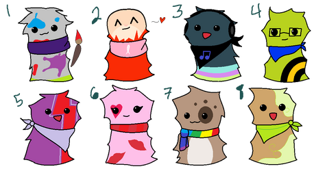 Scarf Blob Adopts [CLOSED] by nostalgic-neophyte