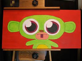 Zim Green Monkey