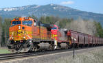BNSF 5016 through Algoma by paploothelearned