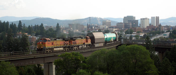 Boeing Rides Through Spokane