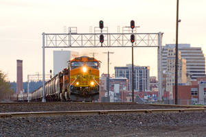 BNSF 4186 Golden Hour