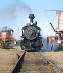 Skunk Train Steaming Up