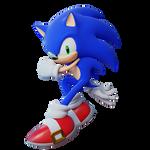 Sonic the Hedghehog || Uekawa 3D render 2
