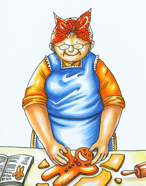 The Gingerbread Man - Part 1 by kuroneko3132