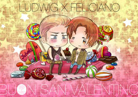 Buon San Valentino collab by kuroneko3132