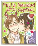 Feliz Navidad, Amo-Siesta