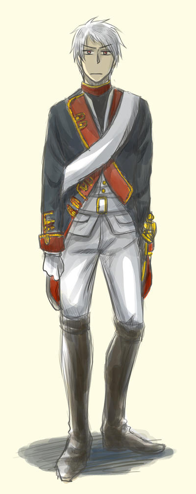 Prussia in Uniform by kuroneko3132
