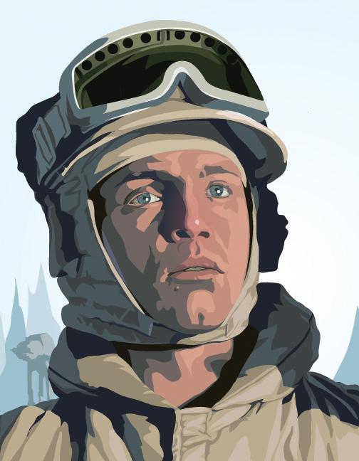 Luke Skyvector by DeathMetalDan