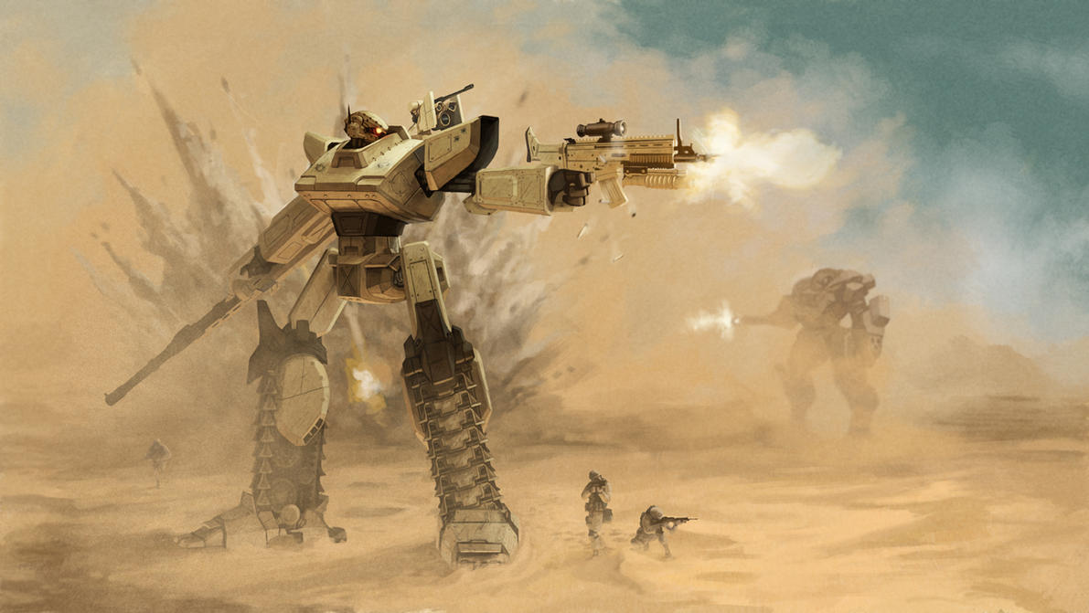Tank Mech Final by DeathMetalDan