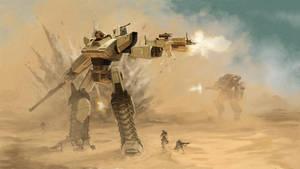 Tank Mech Final by DeathMetalDan