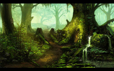 Forest of Aldorn by DeathMetalDan