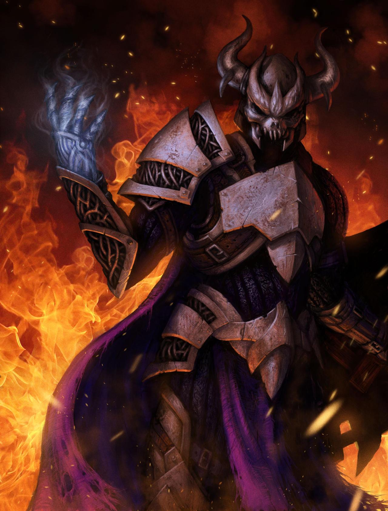 Especificação de Elemento - Slayers. Nergal_by_deathmetaldan-d4h3smr