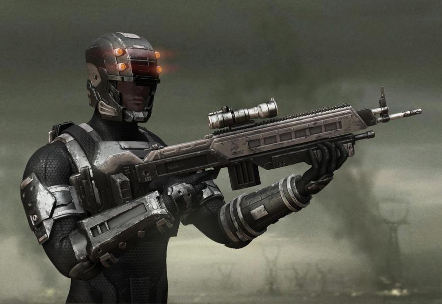 Generic Sci-fi by DeathMetalDan